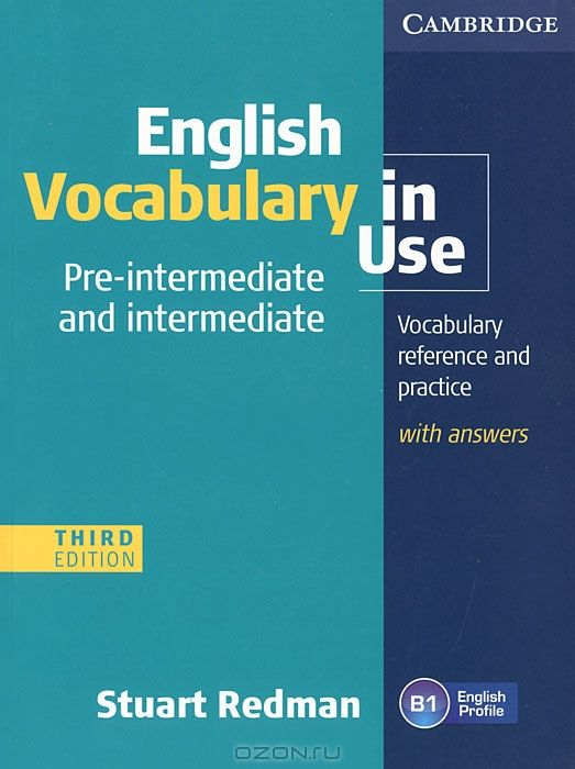 English Vocabulary in Use Pre-intermediate and Intermediate with Answers